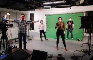 Social Distancing in the Studio