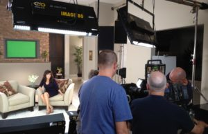 On Set with Marie Osmond for Nutrisystem