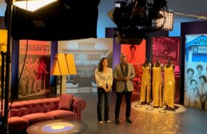 On the Set of Time Life Motown with Randy Jackson & Suzette Charles