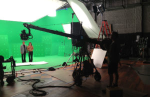 Green Screen Studio for Virtual Set with Bobby Rydell